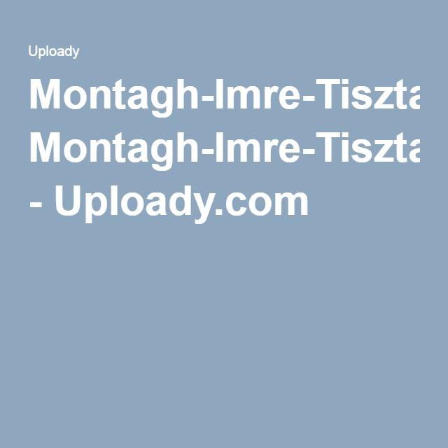 Montagh-Imre-Tiszta-Beszed pdf - Uploady com | Gyerekek