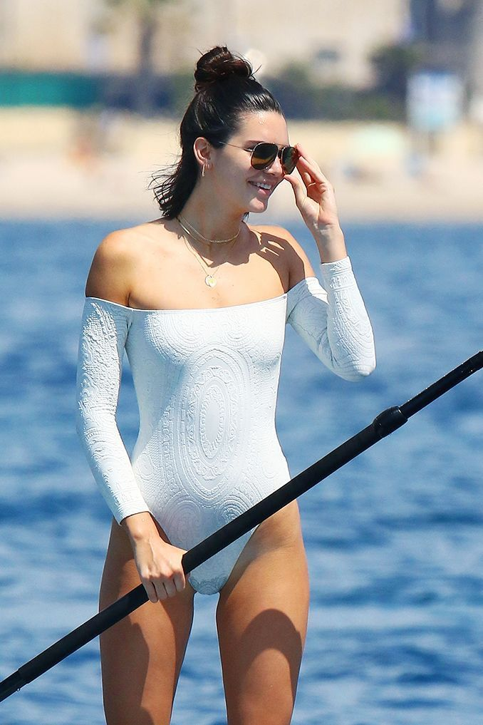 63ade539ee Best Swimsuits 2017 2018   Kendall Jenner just wore the coolest swimsuit  while in Cannes and we know exactl