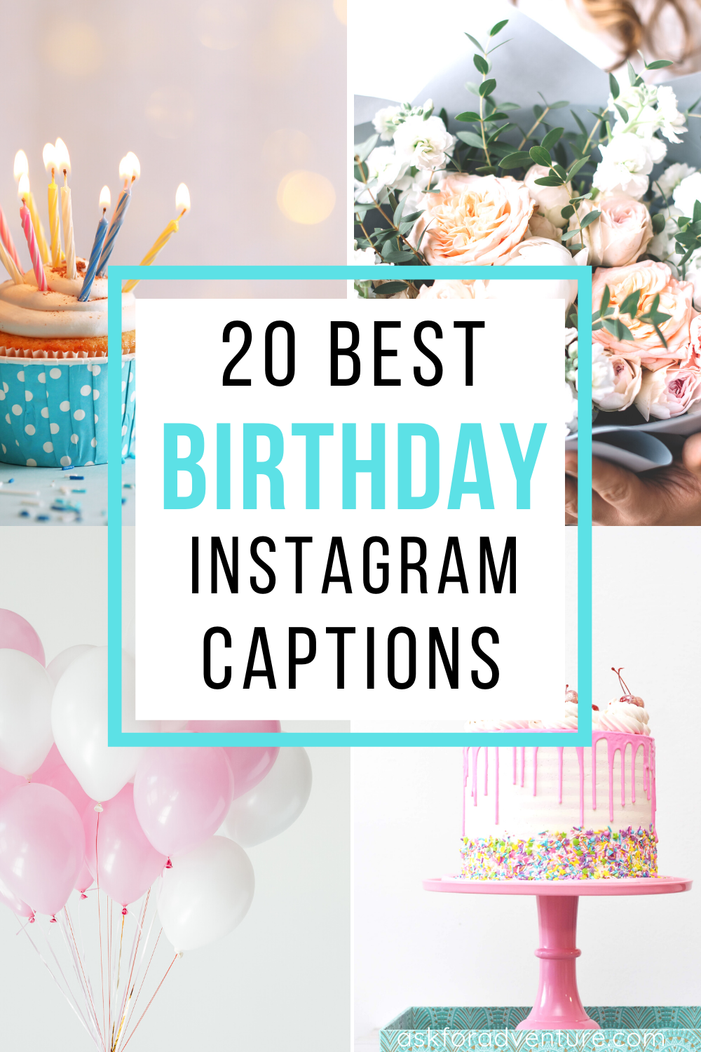 20 Cute Birthday Captions for Instagram Pictures ...