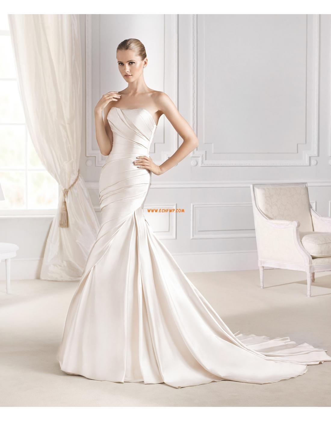 Meerjungfrau-Linie/Mermaid-Stil Taft Elegant & Luxuriös Brautkleider ...