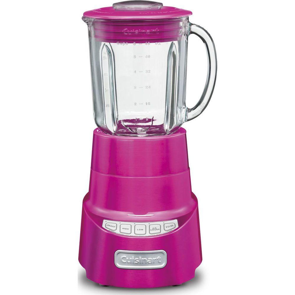Cuisinart Spb 600mp Smartpower Deluxe Die Cast Blender Metallic Pink Blender Food Network Healthy Cuisinart