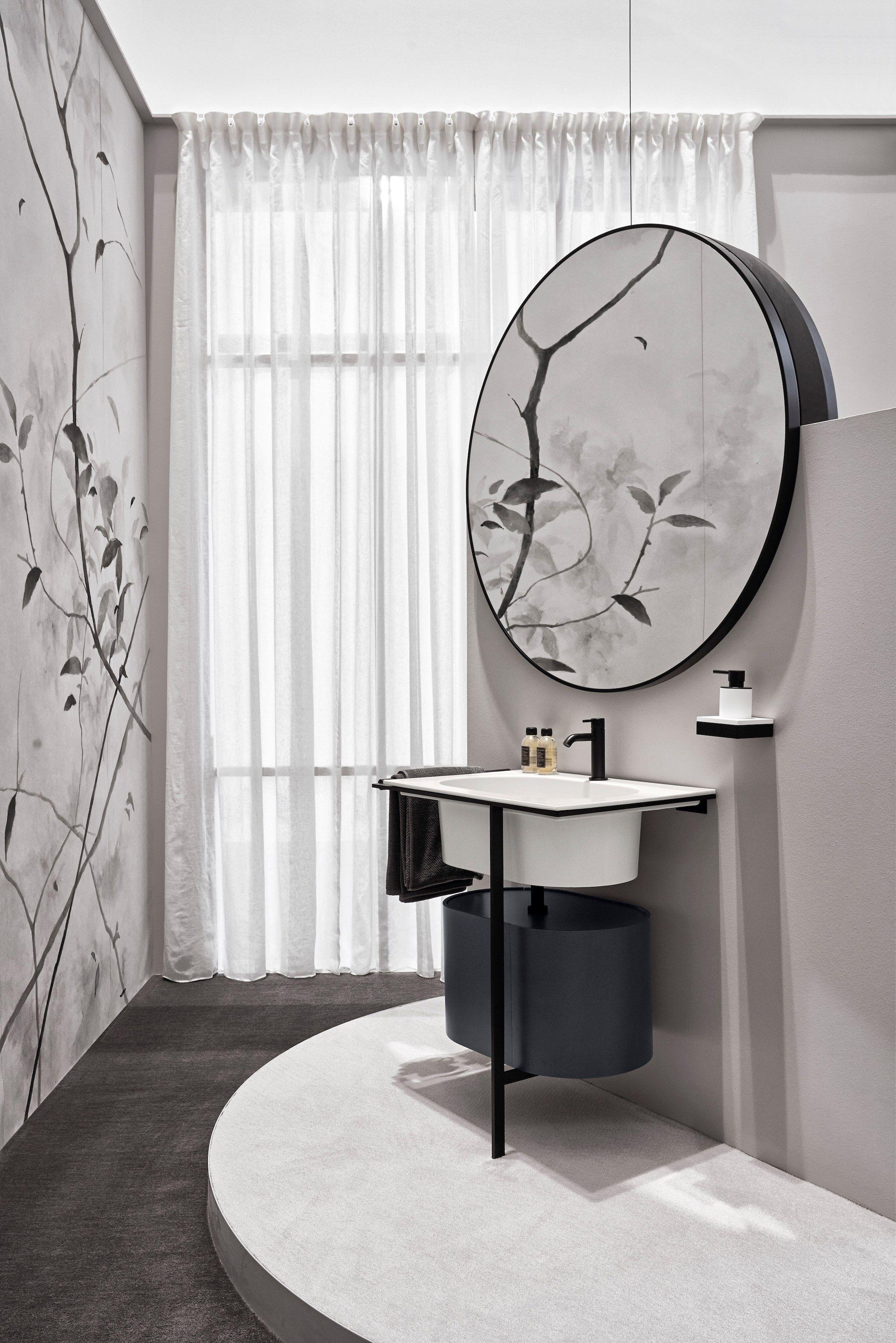 Einzel Waschtischunterschrank mit Türen KYROS By Ceramica