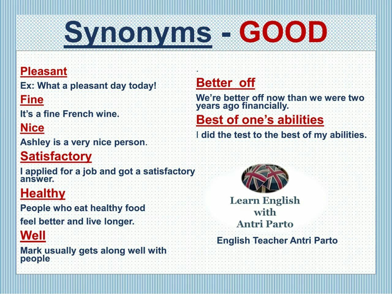 Pin By Gilcy Rezende On English Learn English Synonyms For Awesome Teacher Hacks