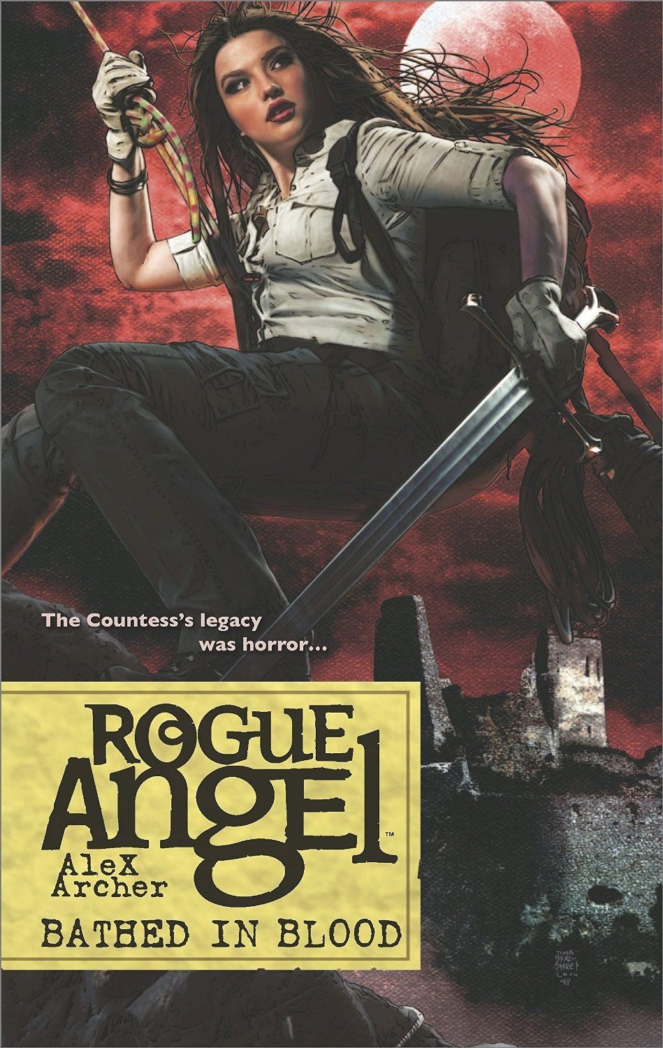 Bathed in Blood (Rogue Angel) by Alex Archer | Gold Eagle Rogue Angel  (March 1, 2015)