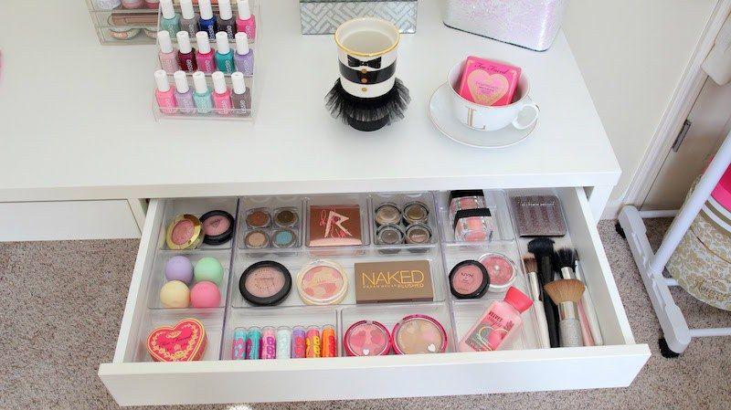 Rangement Maquillage Pratique Et Joli En 15 Idées Originales פינת