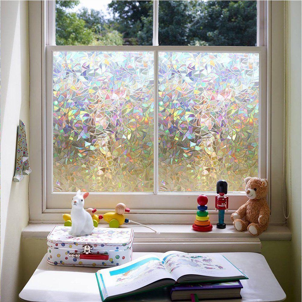 3d Laser Static Decorative Privacy Window Films Usd 11 75 Window Film Privacy Window Stickers Privacy Window Cling Vinyl
