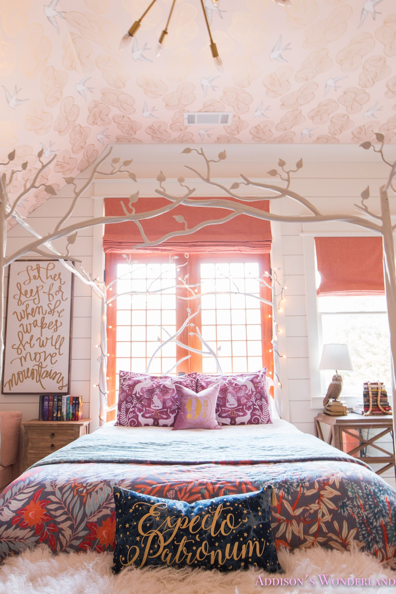 Creating A Beautiful Harry Potter Themed Bedroom For Addison