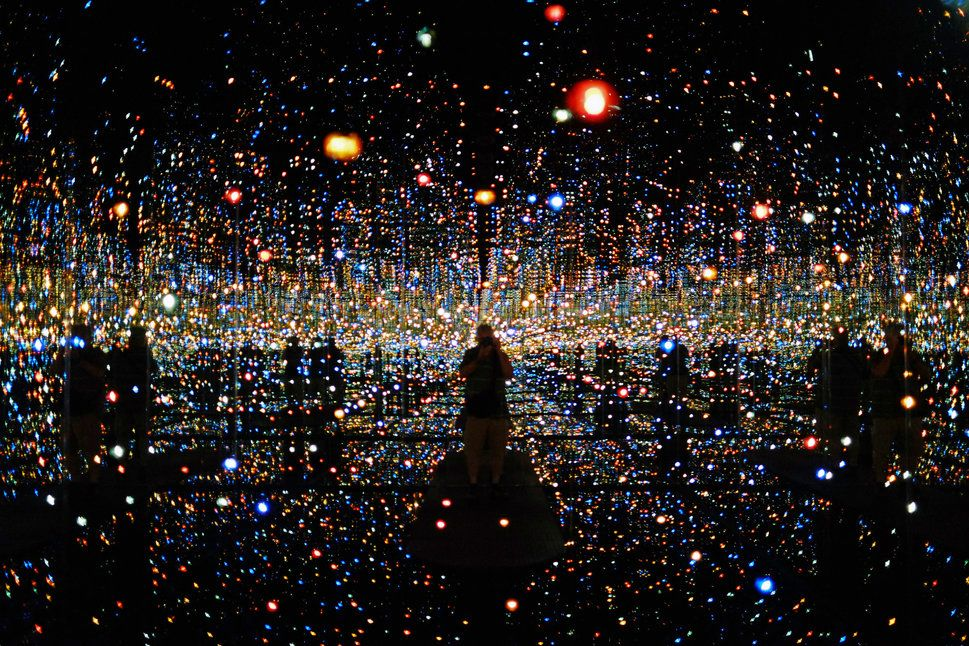 Happy Birthday Yayoi Kusama One Of The Most Famous Living Artists