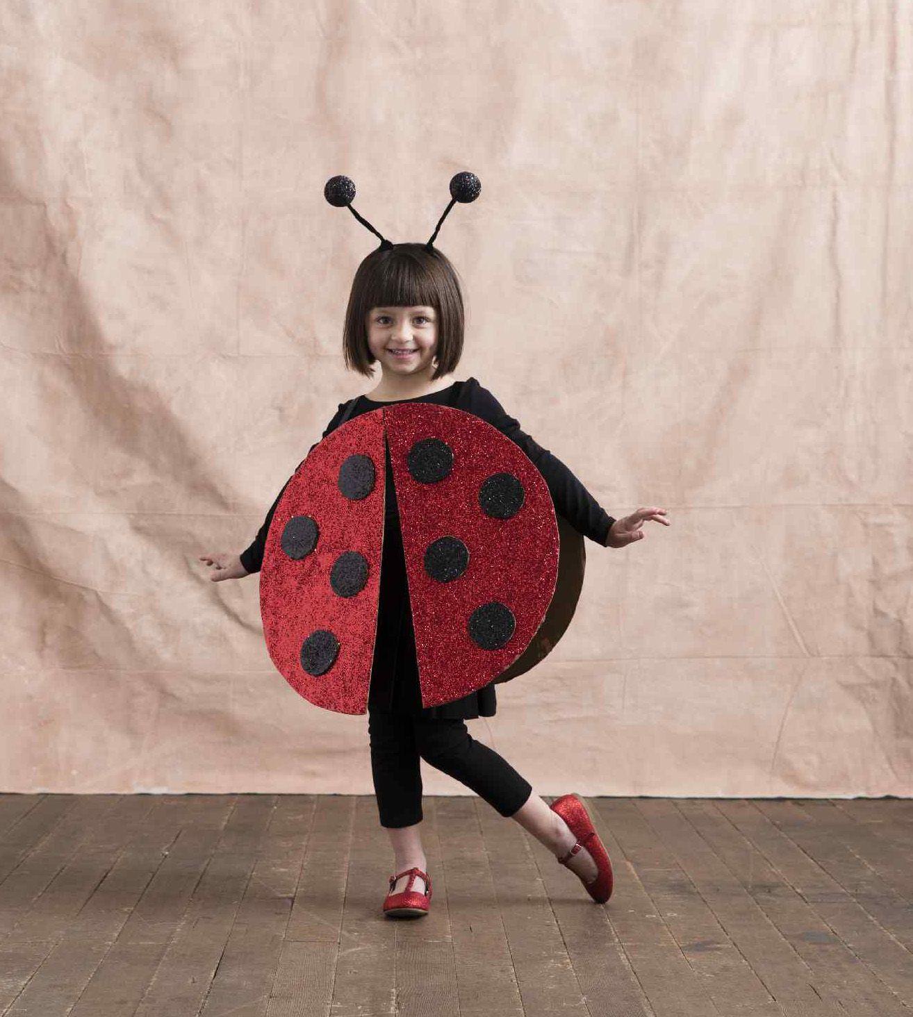 This DIY Kids Ladybug Costume Is So Easy to Make