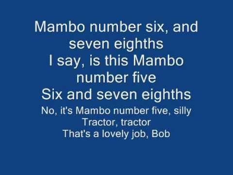 Bob the Builder Mambo No. 5. It's a real thing.