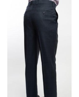 English Laundry Two Button Wide Notch Lapel Slim Fit Men S Dark