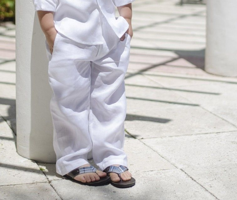 Classic Boys Linen Pants. Linen   Vow Renewal   Pinterest   Boys ...