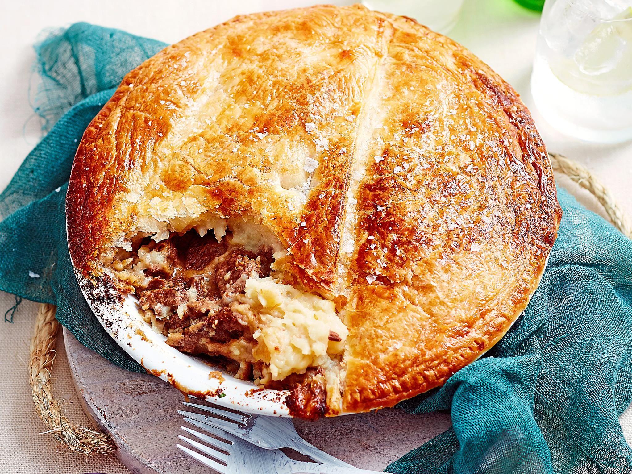 Steak Diane Pie Recipe recipe   Chicken pot pie recipes ...