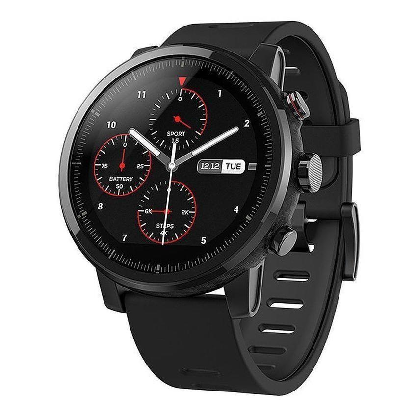 Original Amazfit Stratos Sports Smart Watch 2 Gps 1 34inch 2 5d Screen 5atm Wristband Montre Intelligente Montres Gps Montre De Sport