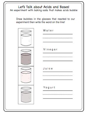 free worksheet for acids and bases experiments school stuff pinterest free worksheets. Black Bedroom Furniture Sets. Home Design Ideas