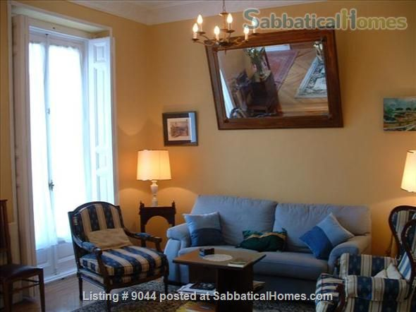 Sabbaticalhomes Home For Rent Madrid 28005 Spain Ious 3 Br Furnished Apartment
