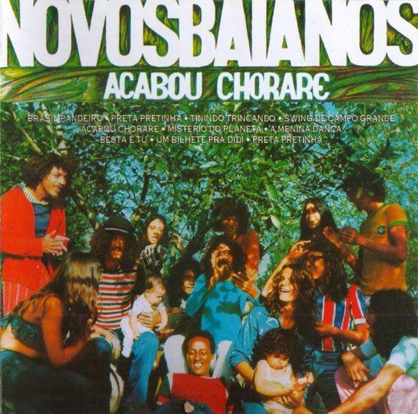 Acabou Chorare Novos Baianos In 2019 Lp Vinyl Music