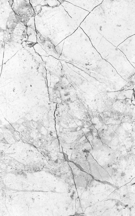 Papel Pintado Con Efecto Marmol Blanco Y Gris Agrietado Marble