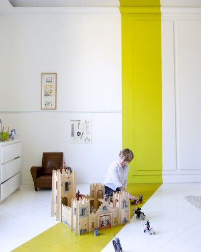 Unexpected paint - Photo Julien Fernandez | For the Home | Pinterest ...