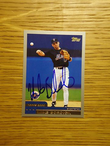 Mike Bordick 2000 New York Mets 2000 Topps Traded