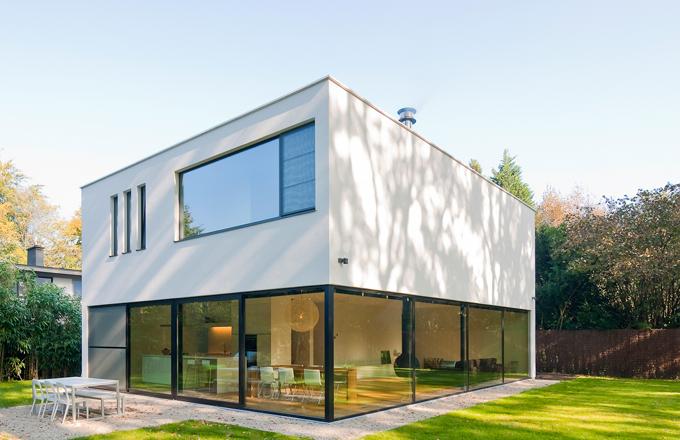 Nouvelle maison à Schoten, Belgique | Architecture en 2019 ...