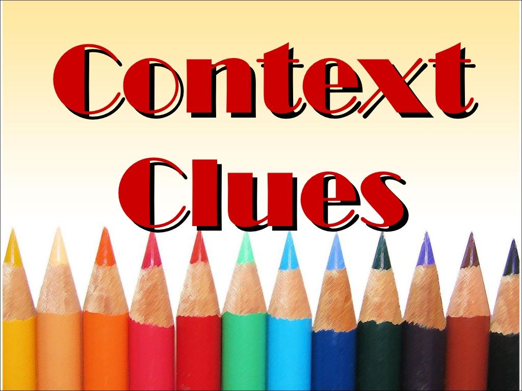 Context Clues By Draizelleon Via Slideshare