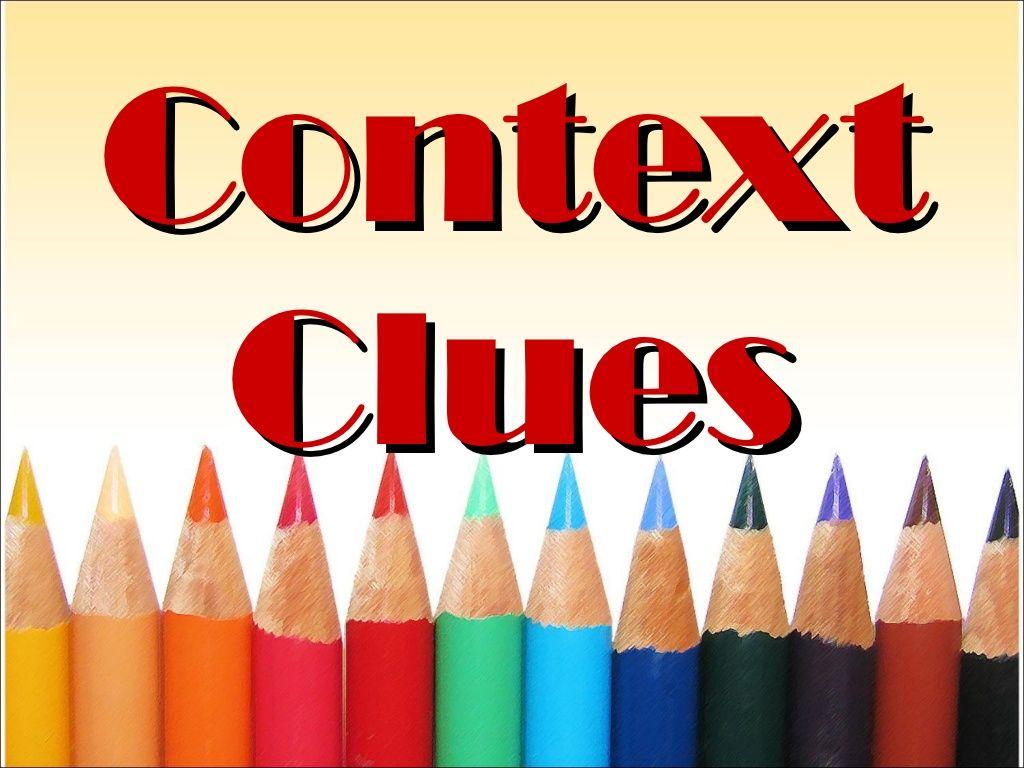 Context Clues By Draizelleon Via Slideshare