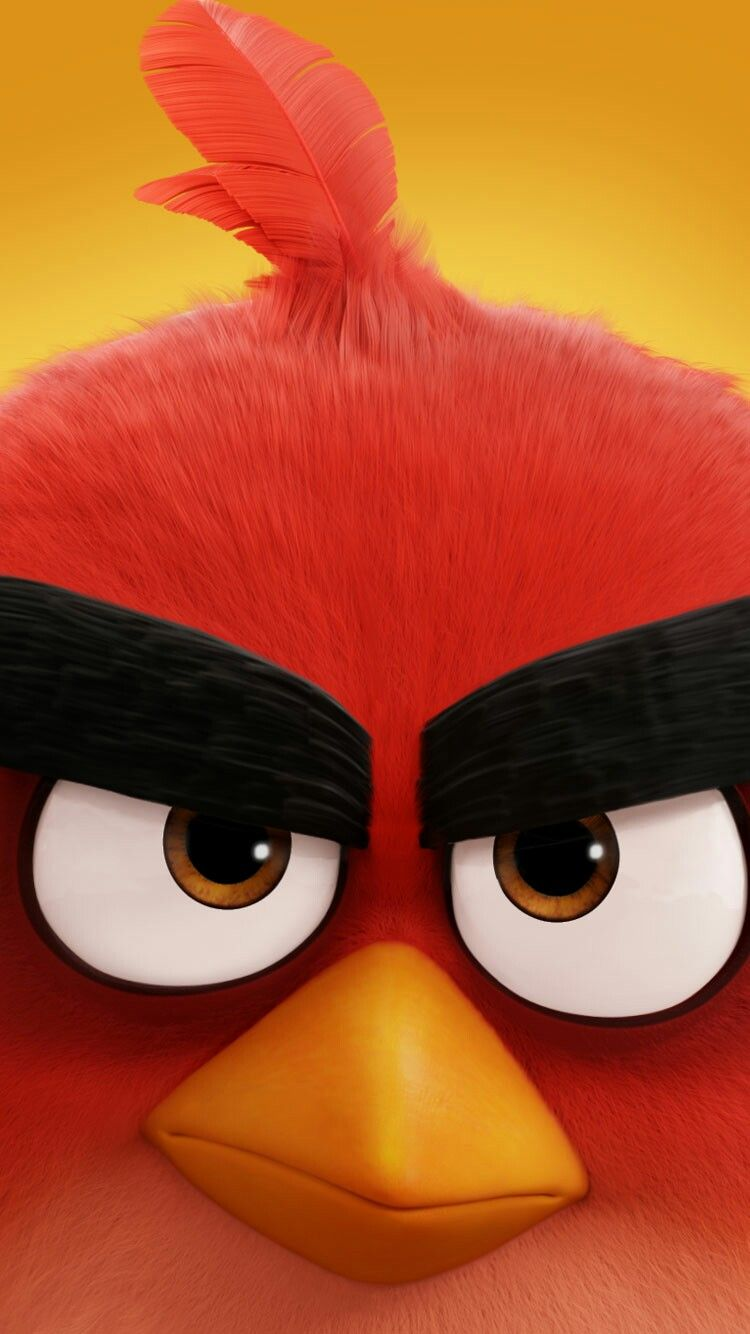 Pin by Deed Roinson on Angry Birds Movie Red angry bird