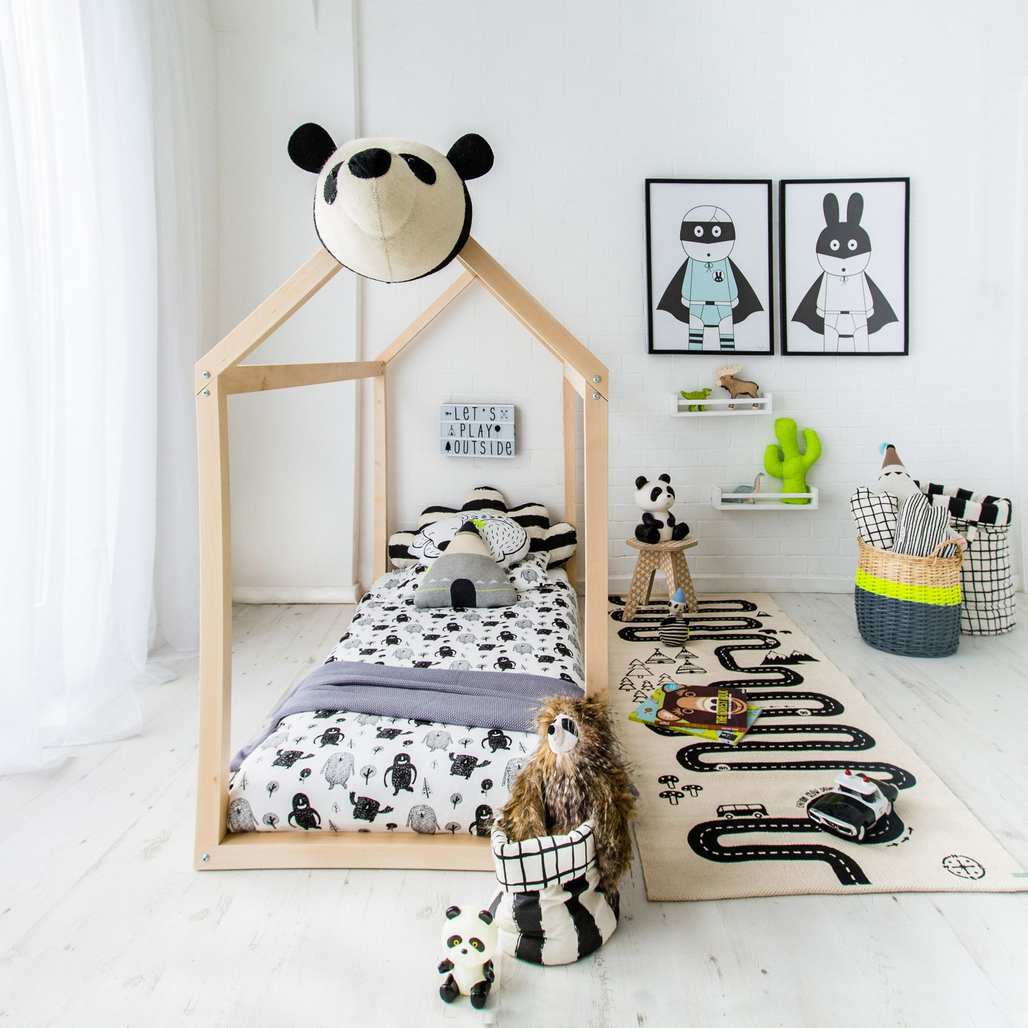 Summer Camp! Children's Bedroom, designed and styled by @bobbyrabbitkids