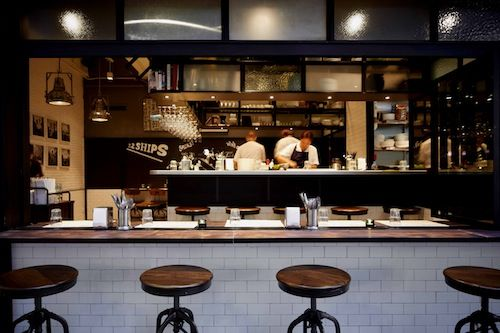 22 Ships is a tapas bar in Hong Kong and there's a Michelin starred chef running the kitchen.