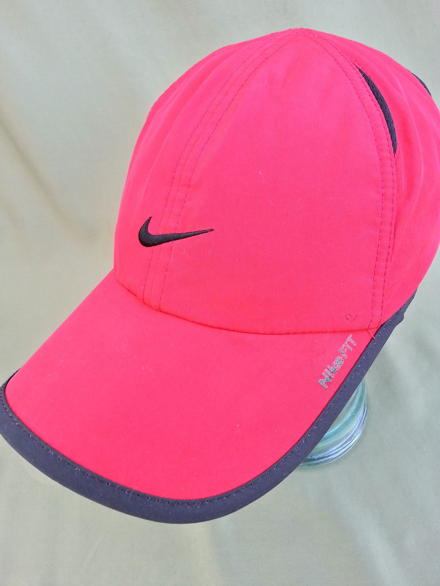Nike Fit Red Runners Hat Gorra Personalizadas 10504eaa3b3