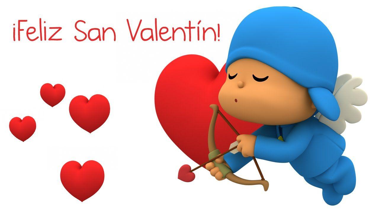 Feliz San Valentín Con Pocoyó ♥