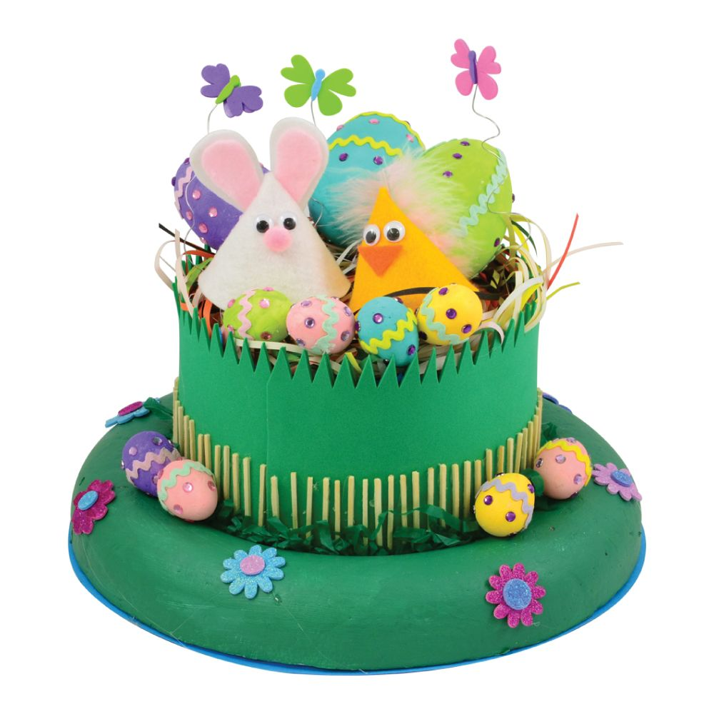 clipart easter bonnets - photo #35