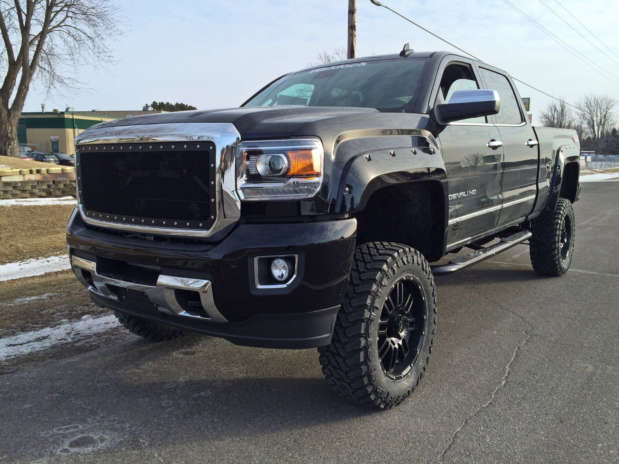 lifted hd truck diesel gmc img sierra for used sale denali