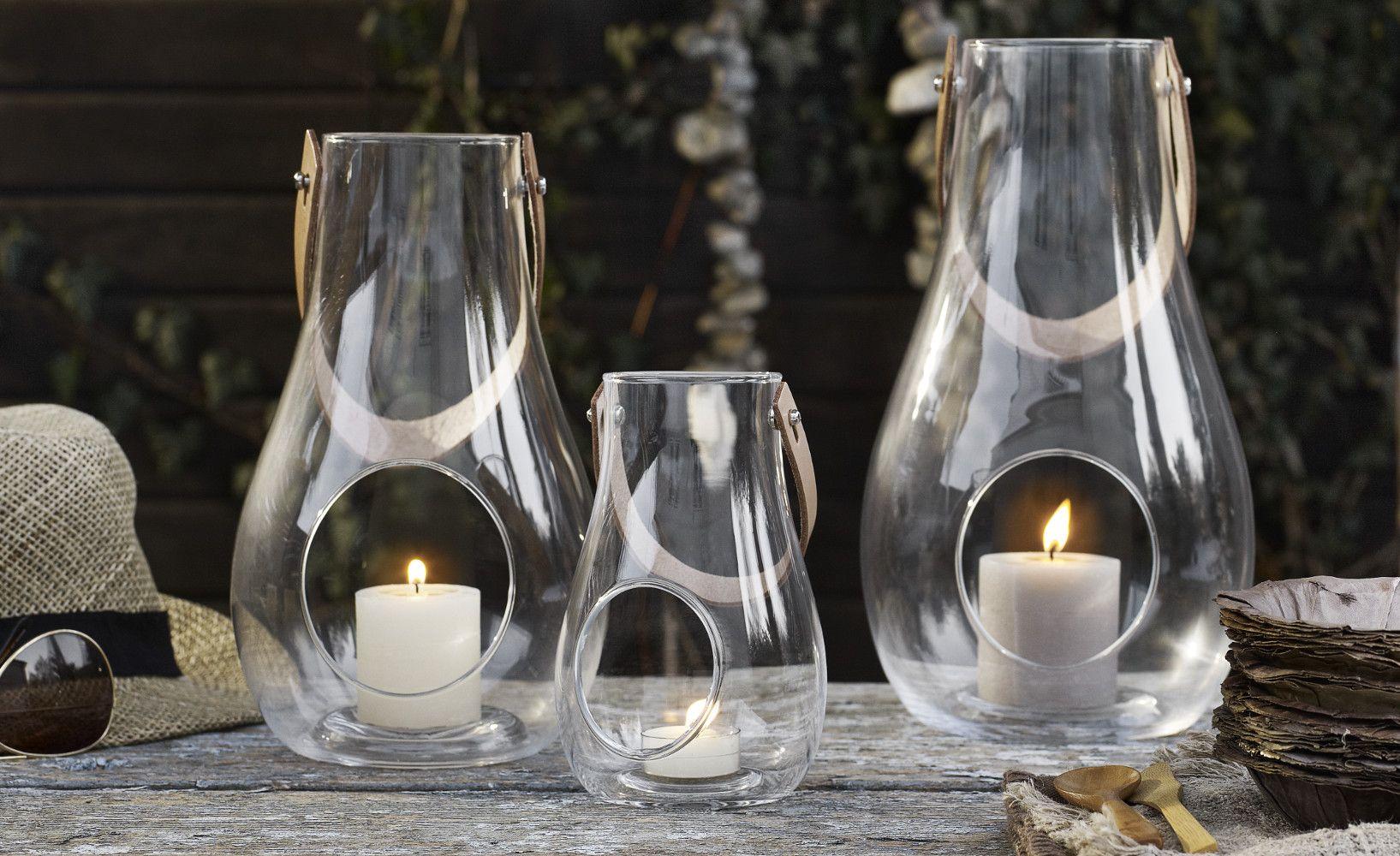 Die Design With Light Windlichter Von Der Designerin Maria Berntsen Aus Dem  Hause Holmgaard Aus Dänemark Bringen Wohnliche Gemütlichkeit In Die Räume.