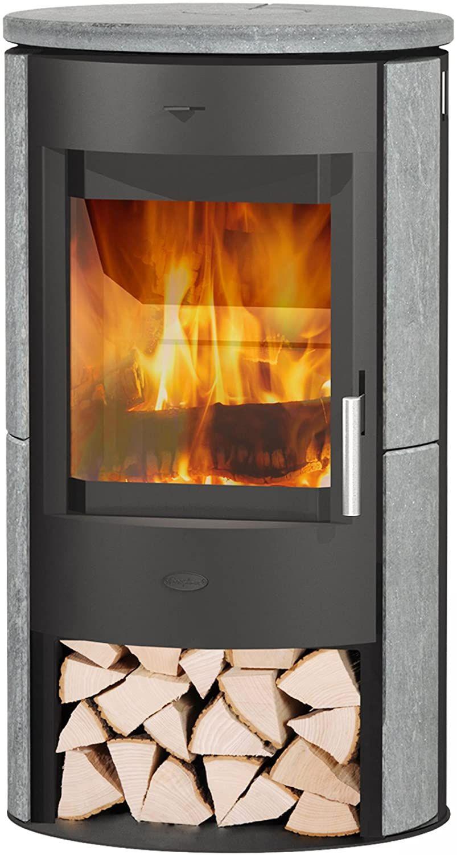 Fireplace Kaminofen Zaria Naturstein 6 Kw Mit Holzfach Werbung Ad Kaminofen Kamin Speckstein