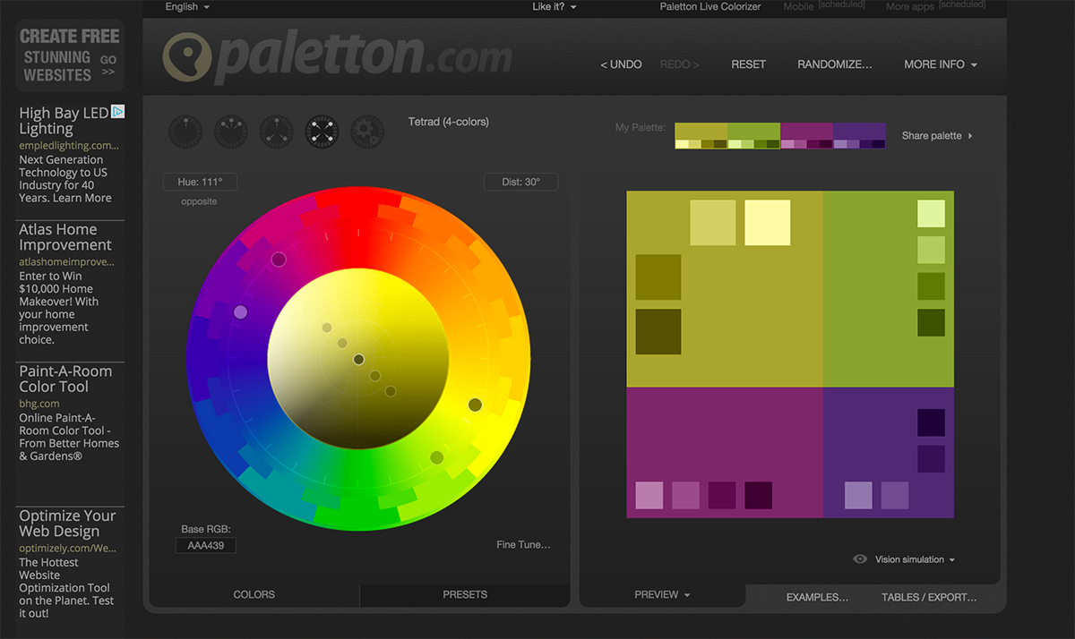 Color Scheme Designer color scheme designer 3 | color scheme generator, website