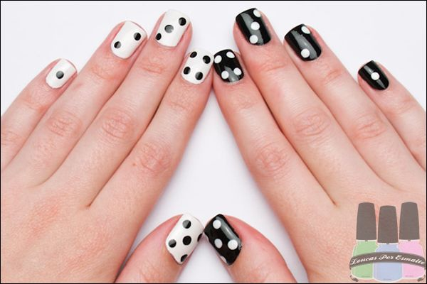 Klutz Nail Art Book We Made Dice Nails Just Like This Picture With