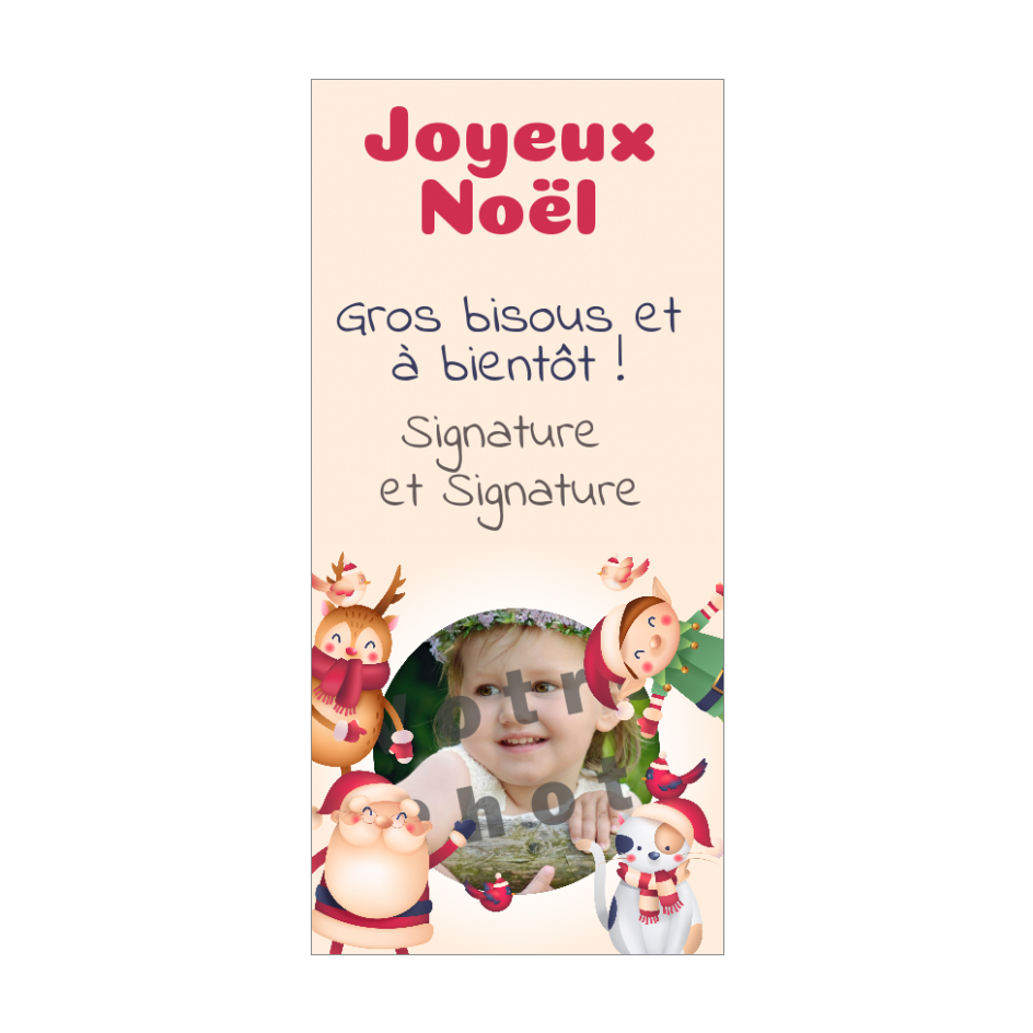 Carte Joyeux Noel A Imprimer Personnalisee Avec Votre Photo Carte Joyeux Noel Modeles De Cartes De Noel Cartes De Noel Gratuites