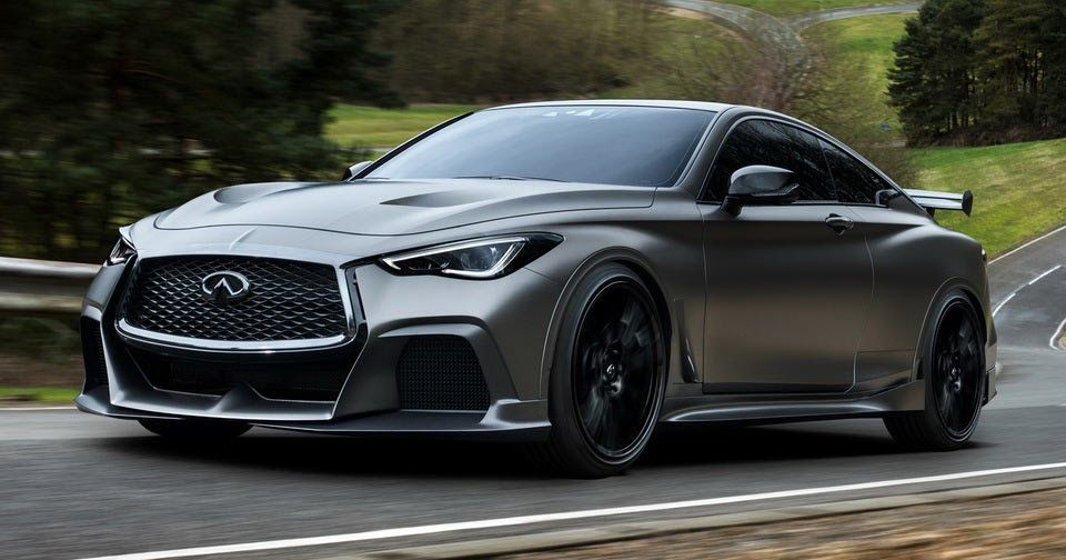 Infiniti Renault F1 Recharge Q60 Coupe And Turn It Into The Hot