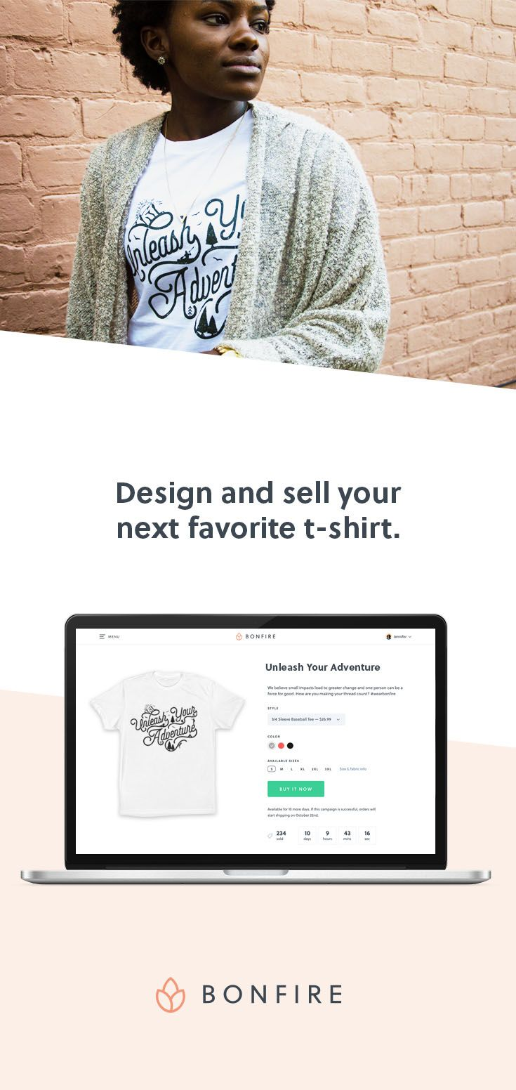 Design and sell custom t shirts create your own design - How to earn money in home design ...