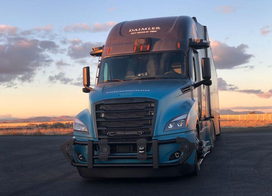 Daimler Showcases Second Generation Autonomous Freightliner Cascadia Freightliner Cascadia Freightliner Cascadia
