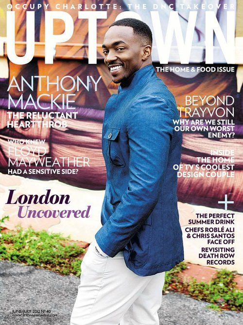 Anthony Mackie Up and rising hot star !