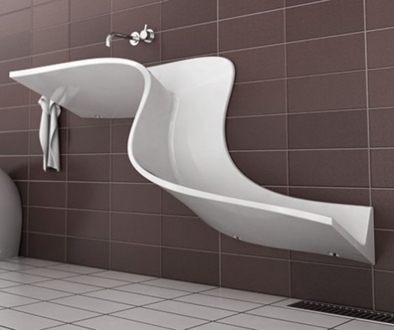 Abisko Washbasin From Eumar Unique Bathroom Sinks Bathroom Sink Design Unique Bathroom Design