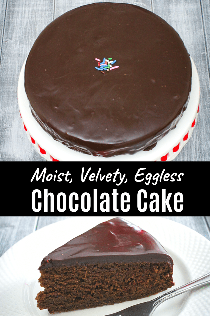 Eggless Chocolate Cake With Condensed Milk Spice Up The Curry Recipe Best Eggless Chocolate Cake Recipe Chocolate Cake Recipe Moist Egg Free Chocolate Cake
