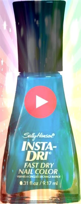 Hansen nail polish in Brisk Blue A neon blue that could look good against Sinful Colors Nail Polish  Rise And Shine  05 fl oz Sally Hansen  InstaDri Fast Dry Nail Color i...