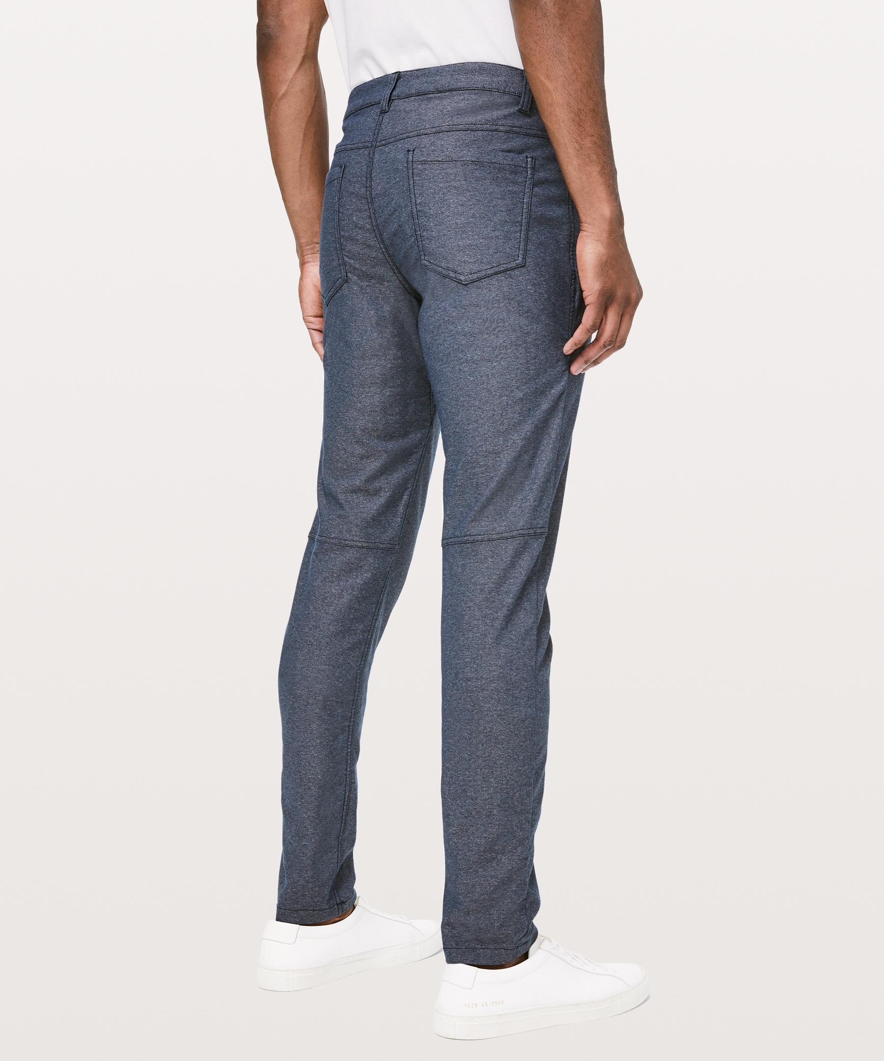 Mens Korean Style Cotton Stretch Long Slim Feet d4 Trousers Fashion Pants NEW