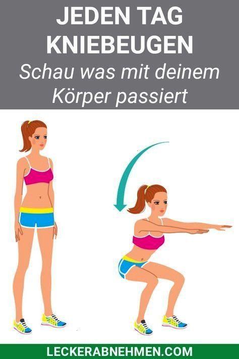 Tage Kniebeugen Challenge - Straffe Beine durch Squats 28 Tage Kniebeugen Challenge - Straffe Beine