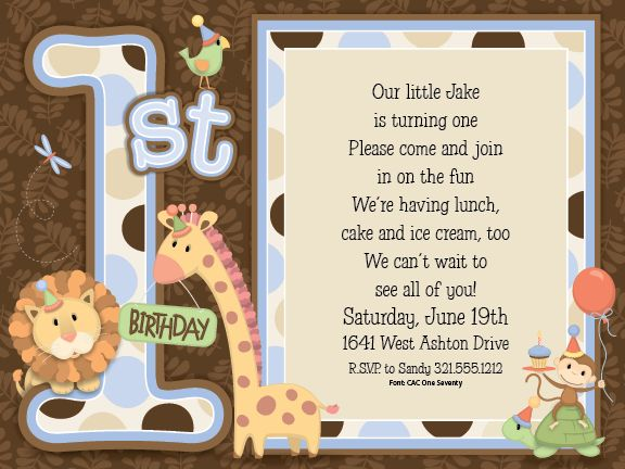 1st birthday animals blue party invitations birthdays 1st birthday animals blue party invitations by paper so pretty invitation box stopboris Image collections