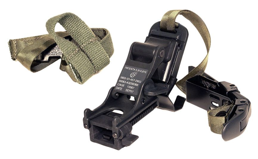 ATN PVS14 MICH Helmet Mount Kit - MICH Helmet Mount Kit for PVS14/6015. Outdoors > Optics > Night Vision. Weight: 0.68